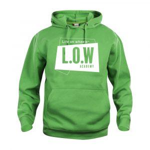 LOW Lysegrøn Hoodie