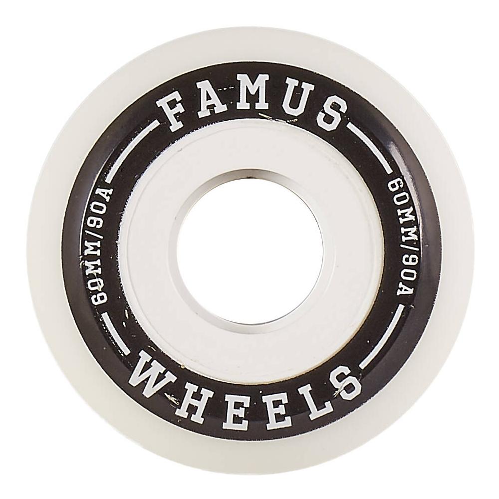 Famus Aggressive Hjul 60mm – Hvid – 4 stk.